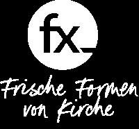 fx logo Claim weiss
